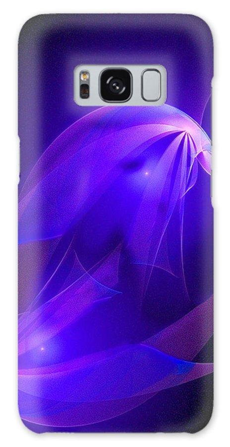 Fractal Galaxy S8 Case featuring the digital art Fractal Piscis by Ricardo Szekely
