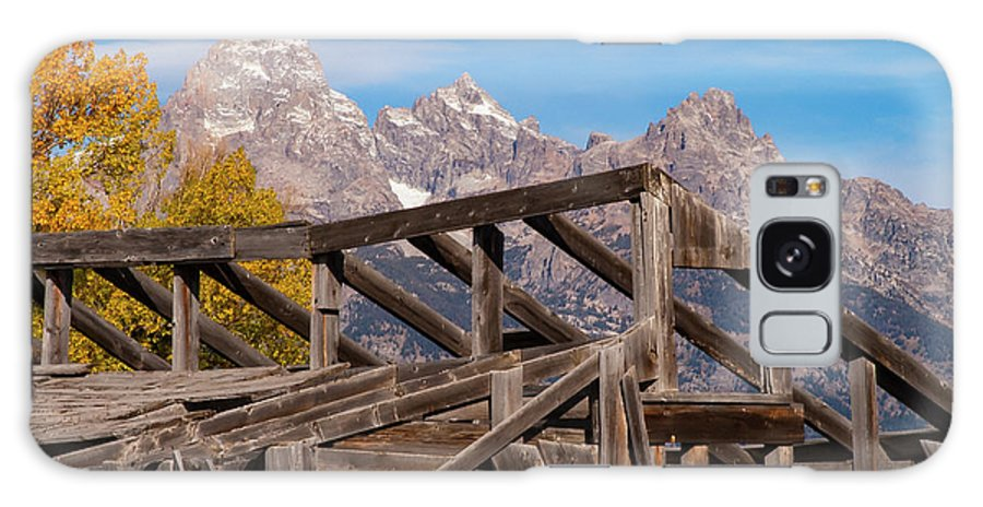 Jackson Hole Wyoming Galaxy S8 Case featuring the photograph Framework by Bob Phillips