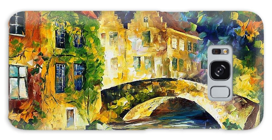 Afremov Galaxy S8 Case featuring the painting France by Leonid Afremov