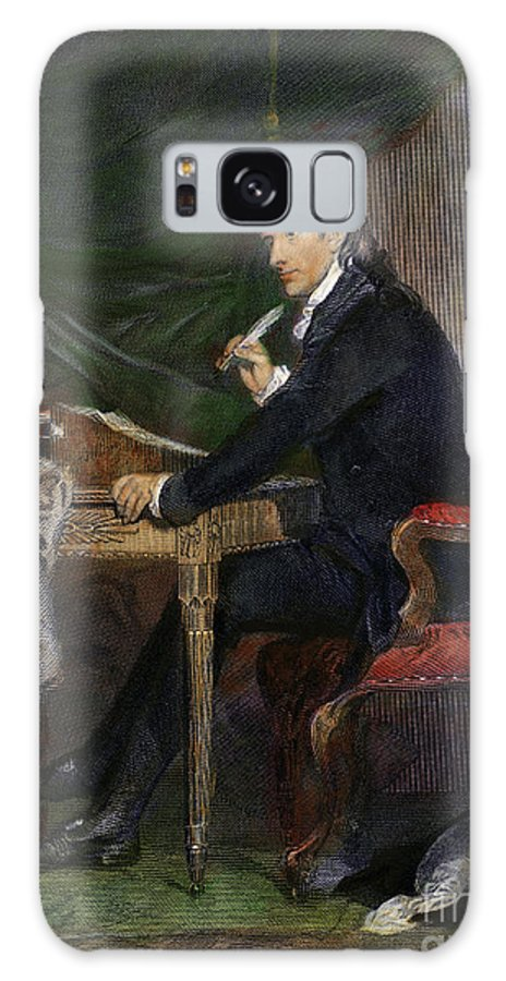 18th Century Galaxy S8 Case featuring the drawing Francis Hopkinson by Granger