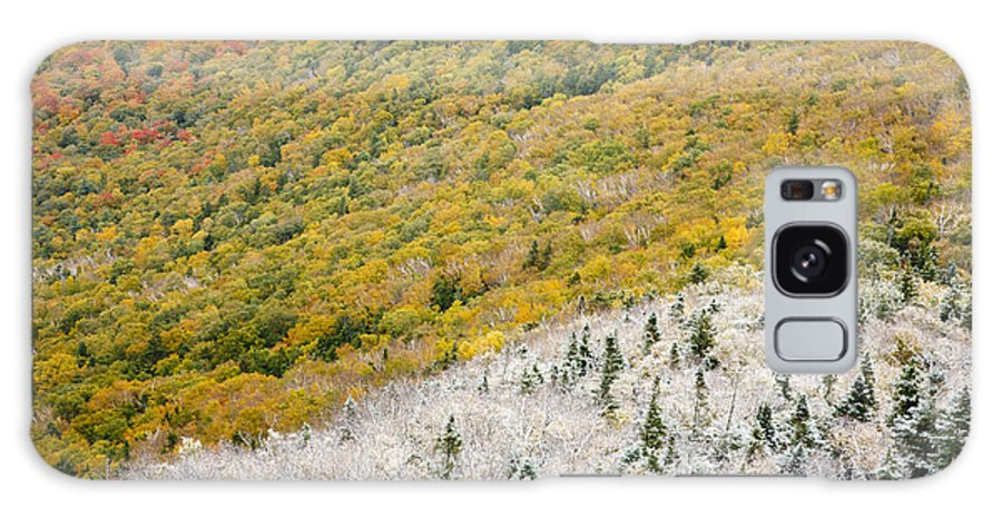 Franconia Notch Galaxy S8 Case featuring the photograph Franconia Notch State Park - White Mountains Nh Usa Autumn by Erin Paul Donovan