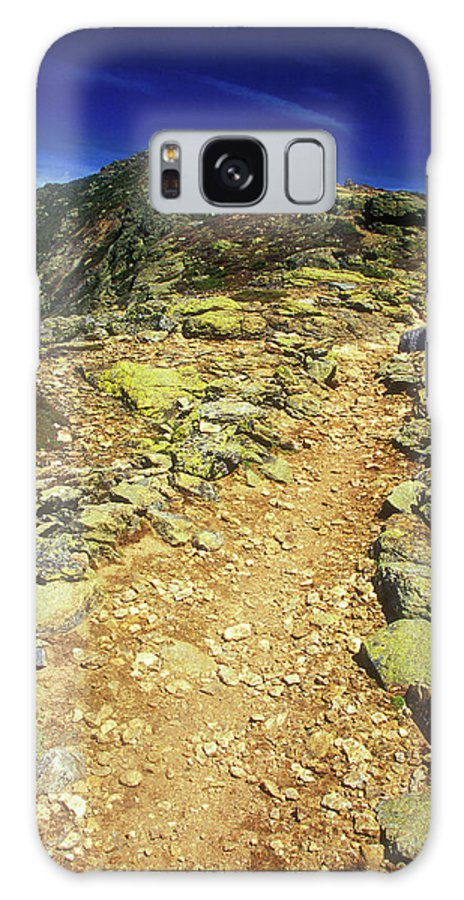 New Hampshire Galaxy S8 Case featuring the photograph Franconia Ridge Alpine Trail by John Burk