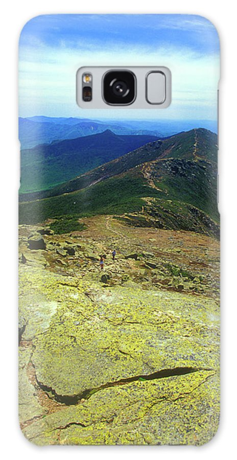 New Hampshire Galaxy S8 Case featuring the photograph Franconia Ridge Trail by John Burk