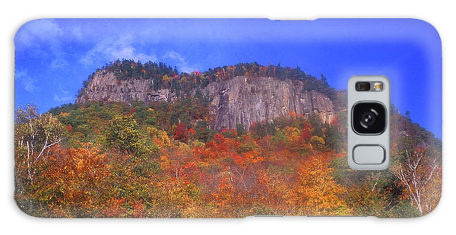 New Hampshire Galaxy S8 Case featuring the photograph Frankenstein Cliffs Crawford Notch by John Burk