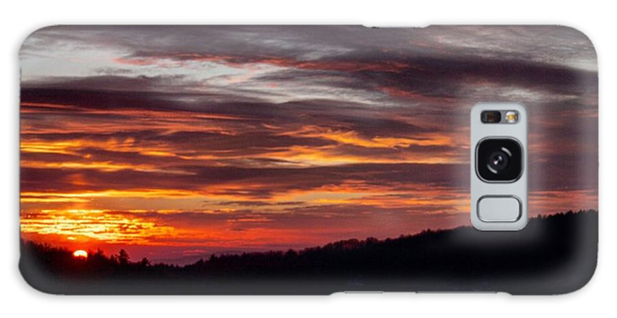 Galaxy S8 Case featuring the photograph Franklin Sunset by Thomas Wagner