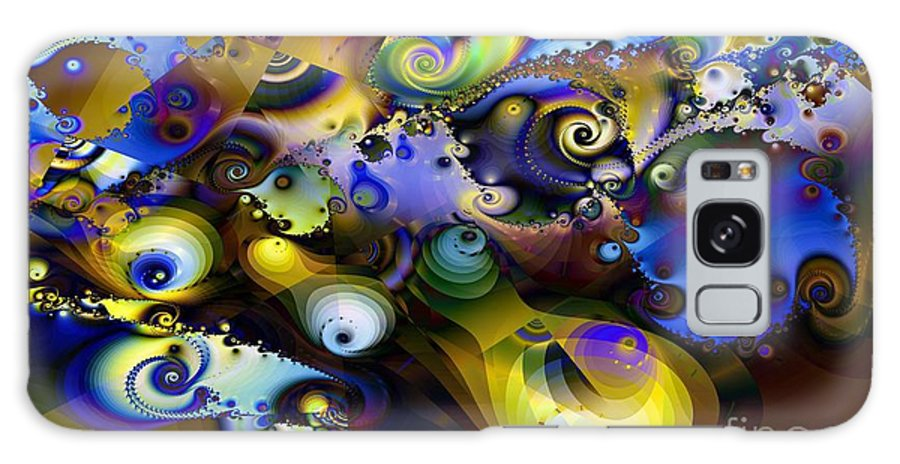 Frantic Activity Galaxy S8 Case featuring the digital art Frantic Activity by Ron Bissett