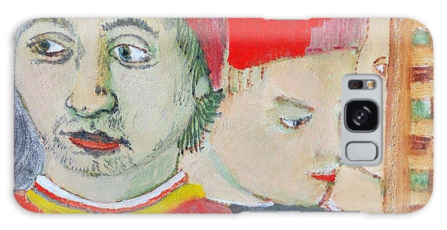 Italian Galaxy Case featuring the painting Fratello by Kurt Hausmann