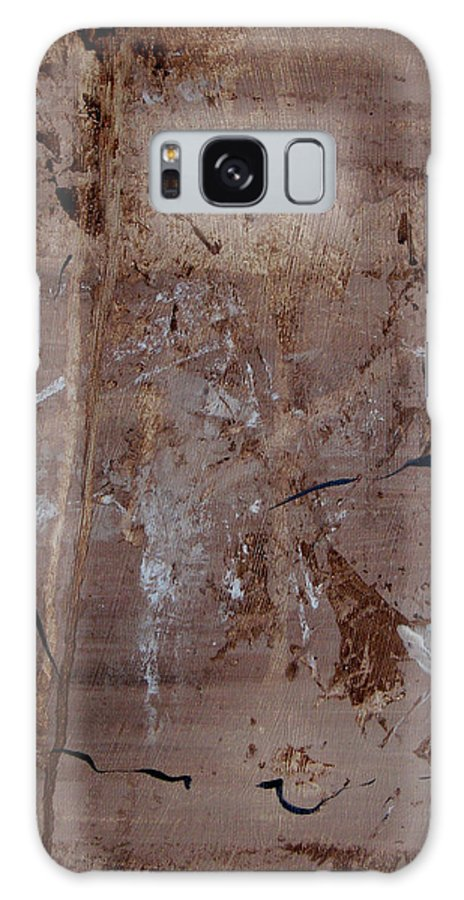 Abstract Galaxy Case featuring the painting Freedom Of Expression by Ruth Palmer