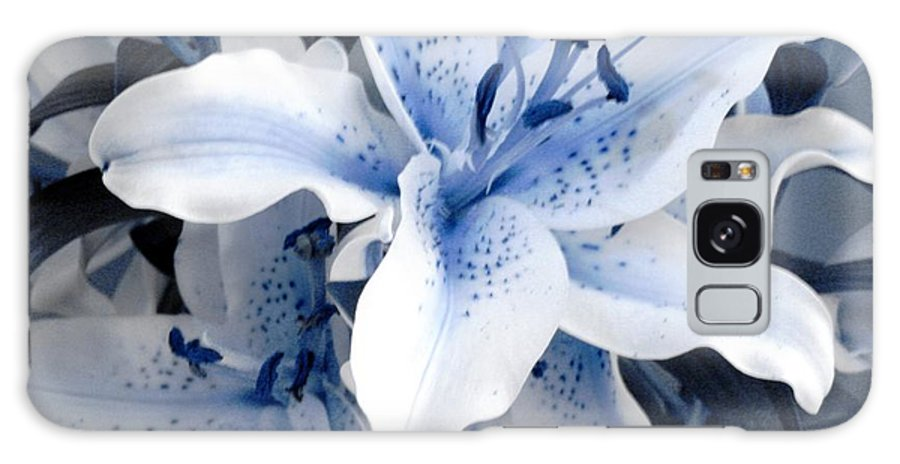 Blue Galaxy Case featuring the photograph Freeze by Shelley Jones