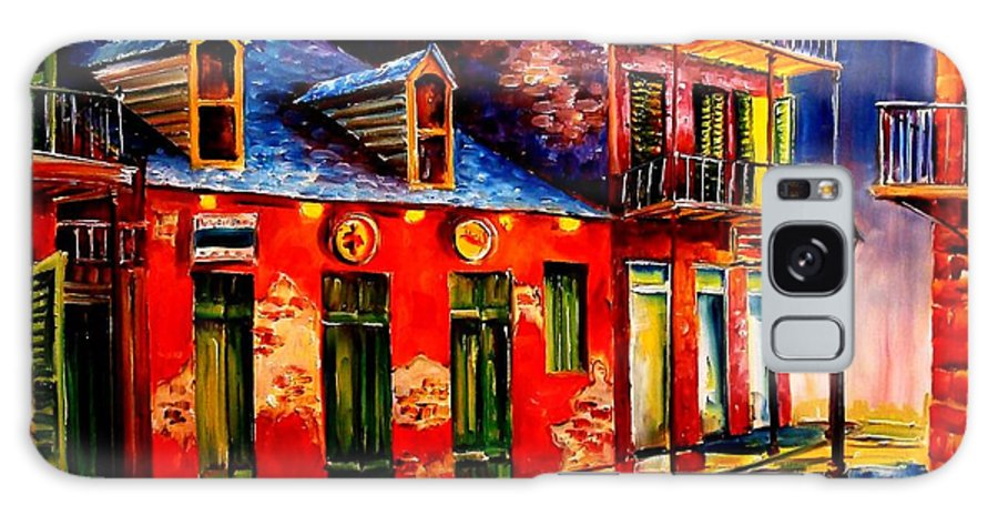 New Orleans Galaxy S8 Case featuring the painting French Quarter Dazzle by Diane Millsap