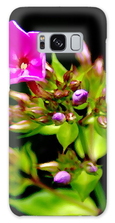 Flowers Galaxy S8 Case featuring the photograph Fresh And Happy 2 by Ben Upham III