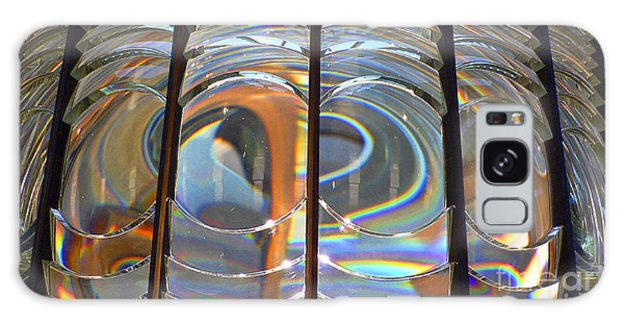 Lighthouse Galaxy S8 Case featuring the photograph Fresnel Lens by Larry Keahey