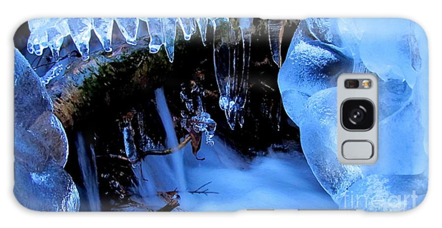 Ice Waterfall Cold Cascade Winter Waterscape Winter Stream Ice Water Quality Natural Ice Formations Nature Prints Blue Ice Images Natural Blue Ice Formation Blue Ice Prints Icescapes Frozen Landscapes Frozen Waterfalls Ice Falls Blue Ice Waterfallimages Blue Waterfalls Frozen Forest Cascade Woodland Wonders Blue Landscapes Blue Macro Falls Natural Ice Formations Blue Ice Cascades Blue Ice Sickles Frozen Falls Natural Inspiration Images Fresh Water Blue Water Blue Falls Cold Crystal Cascade Azul Agua Azul Aqua Blue Brook Quality Natural Resources Blue Crystal Waterfalls Blue Liquid Crystal Grren Design Office Art Wall Art Home Decoration Home Decor Office Decor Commercial Decoration Natural Design Green Interior Design Blue Color Scheme Blue Interior Design Awesome Interior Design Profesional Interior Design Affordable Art Affordable Interior Design Original Interior Design Natural Interior Design Talented Interior Design Inspirational Interior Design Blue Mood Art Monochromatic Blue Art Images Affordable Quality Prints Fine Art Prints Galaxy S8 Case featuring the photograph Frigid Flow by Joshua Bales