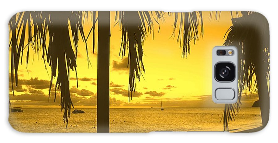 Sunset Galaxy S8 Case featuring the photograph From The Shiggady Shack by Ian MacDonald