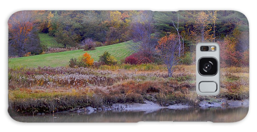 Foliage Galaxy S8 Case featuring the photograph Frosty Autumn Morn by Faith Harron Boudreau