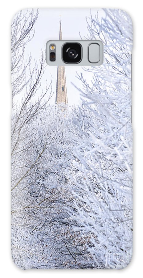 Andrew's Galaxy S8 Case featuring the photograph Frosty Morning by Andrew Michael