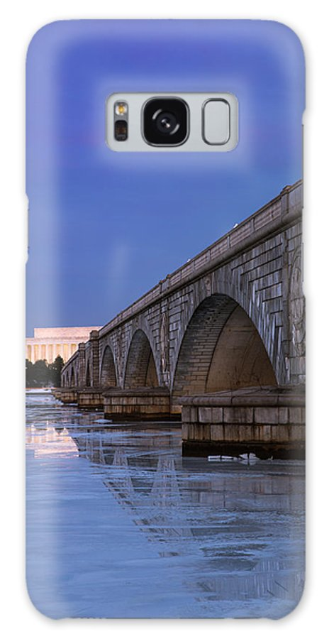 Galaxy S8 Case featuring the photograph Frozen Bridges by Joshua Lebenson