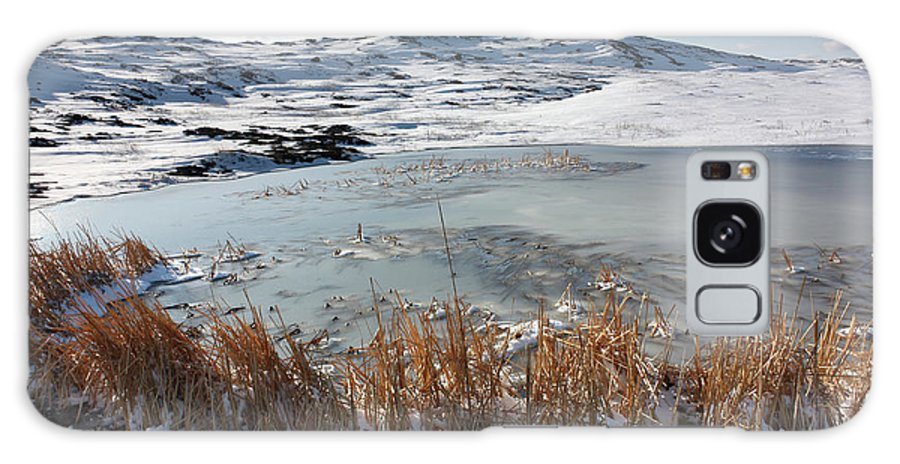 Pool Galaxy S8 Case featuring the photograph Frozen Pond by Andrew Terrill