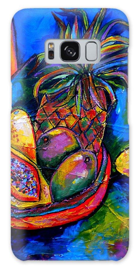 Fruit Galaxy S8 Case featuring the painting Fruitful by Patti Schermerhorn