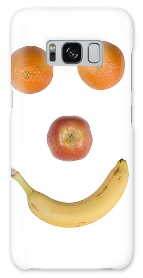 Fruit Galaxy S8 Case featuring the photograph Fruity Happy Face by James BO Insogna