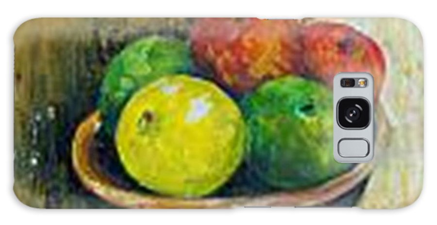 Apples And Oranges Galaxy S8 Case featuring the painting Frutas by Carol P Kingsley