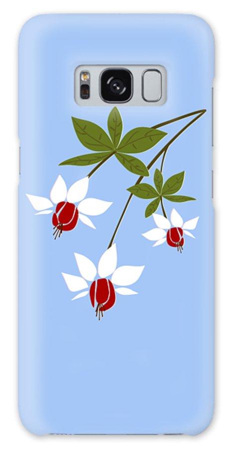 Fuchsia Galaxy S8 Case featuring the digital art Fuchsia by Anastasiya Malakhova