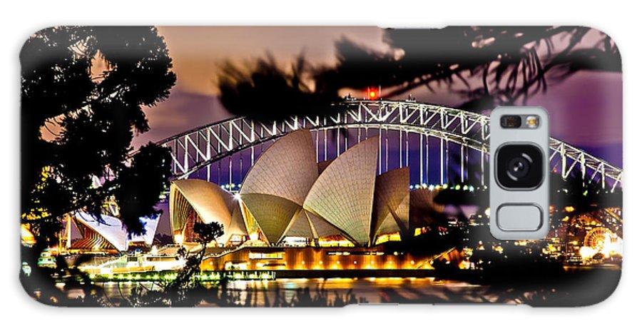 Sydney Galaxy S8 Case featuring the photograph Full Moon Above by Az Jackson