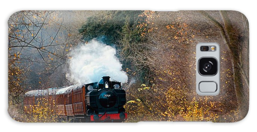 Train Galaxy S8 Case featuring the photograph Full Steam by Phil Child
