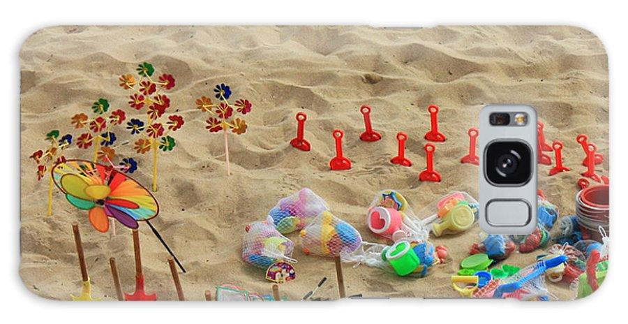 Beach Fun Galaxy S8 Case featuring the photograph Fun At The Beach by Carol Groenen