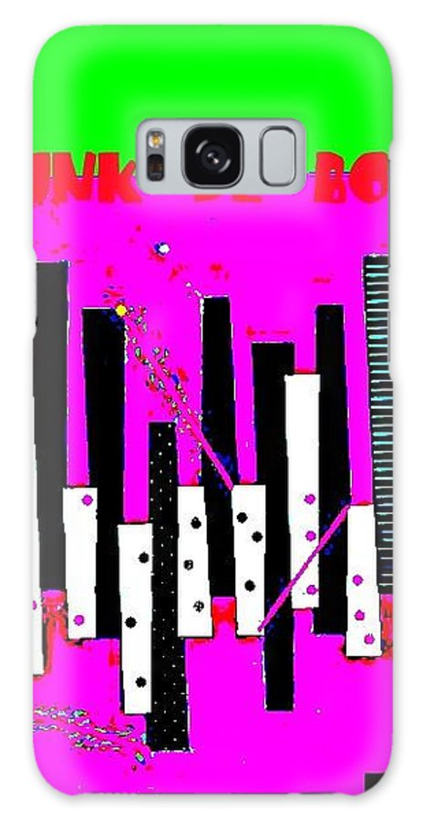 Funk De Bossa Galaxy S8 Case featuring the digital art Funk De Bossa by Tony Adamo
