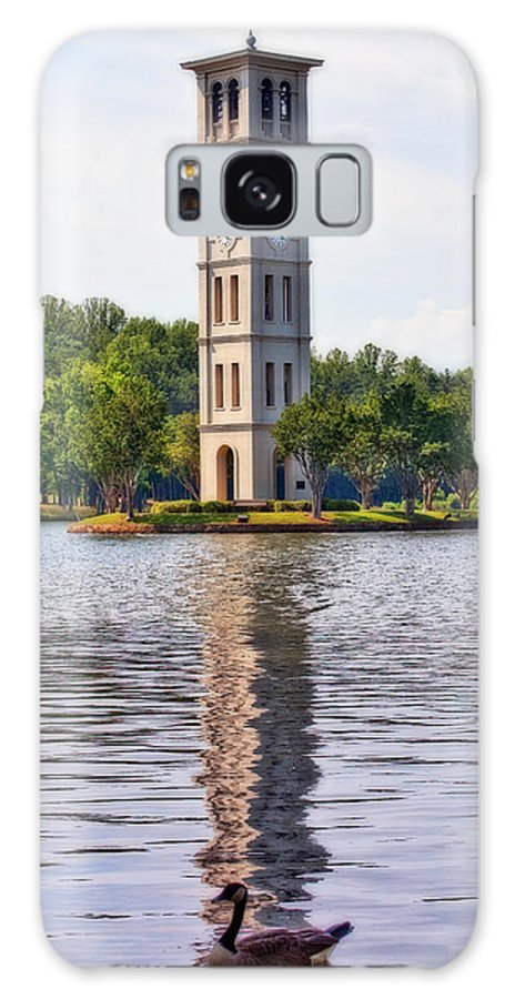 Bell Galaxy S8 Case featuring the photograph Furman University Bell Tower by Gary Adkins