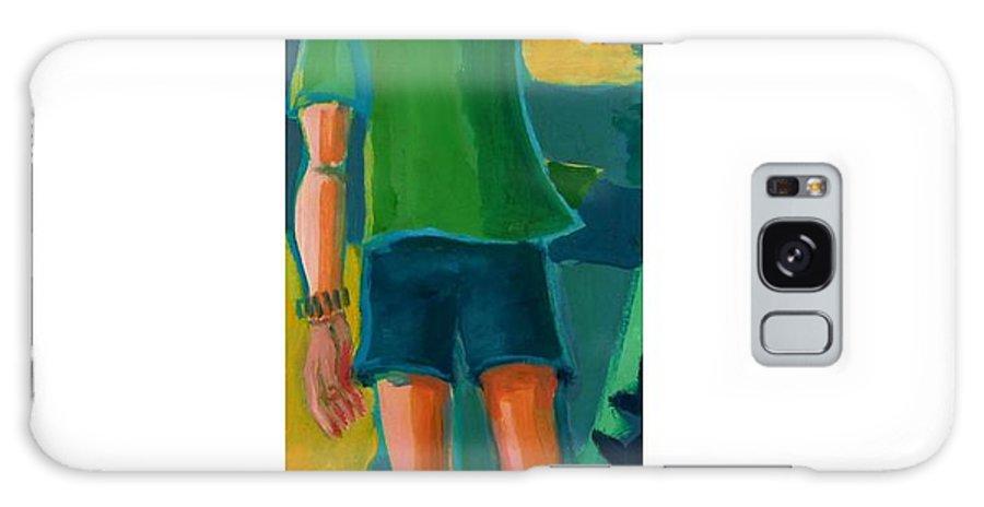 Portrait Galaxy S8 Case featuring the painting Gabrielle by Debra Bretton Robinson