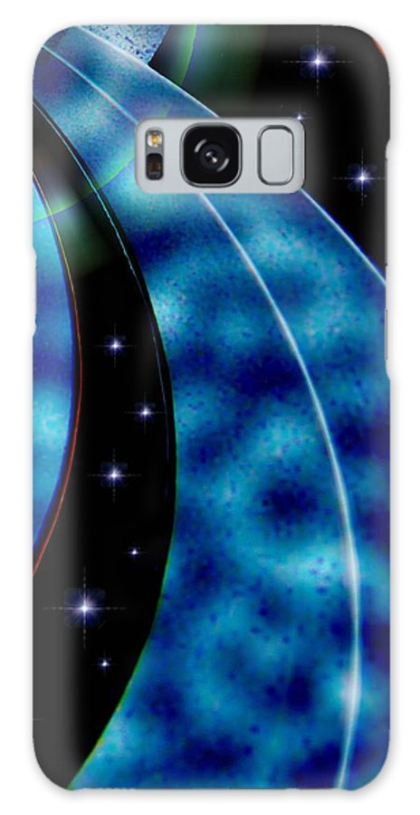 Galactic Autobahn Galaxy S8 Case featuring the photograph Galactic Autobahn by Romuald Henry Wasielewski