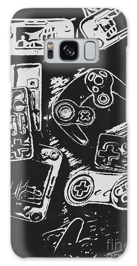 Game Galaxy S8 Case featuring the photograph Game Play In Blocks And Lines by Jorgo Photography - Wall Art Gallery
