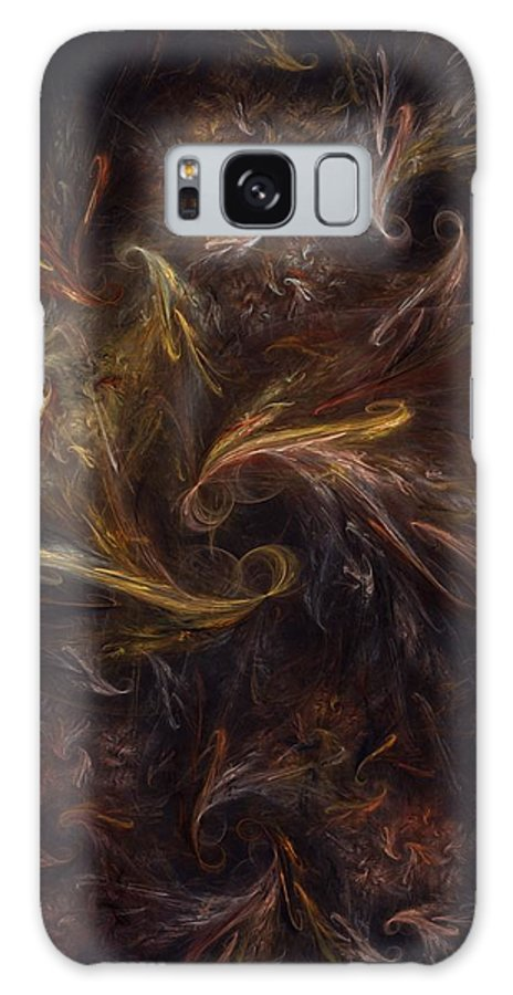 Digital Painting Galaxy S8 Case featuring the digital art Garden Of Earthly Delight by David Lane
