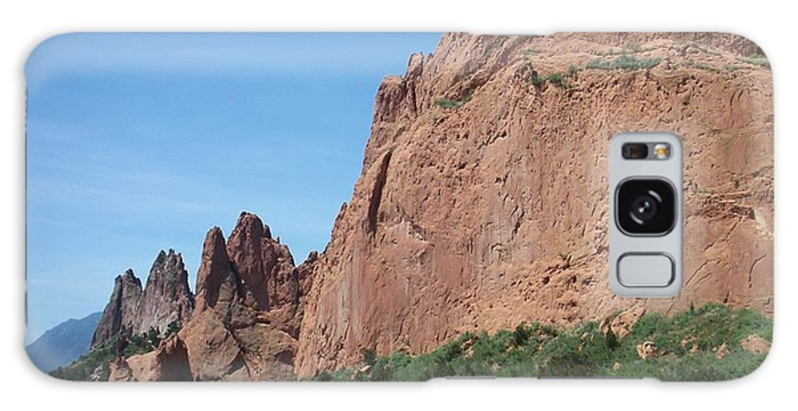 Colorado Galaxy Case featuring the photograph Garden Of The Gods by Anita Burgermeister