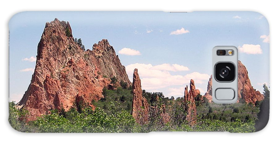 Colorado Galaxy Case featuring the photograph Garden Of The Gods by Margaret Fortunato