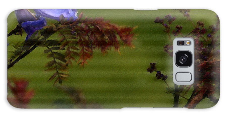 Flowers Galaxy S8 Case featuring the photograph Garden View by Linda Shafer