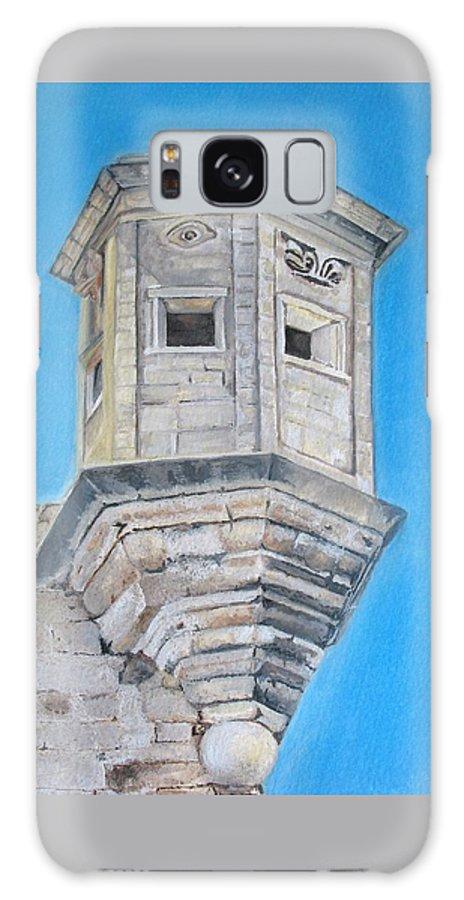 Malta Galaxy Case featuring the painting Gardjola by Lisa Cini
