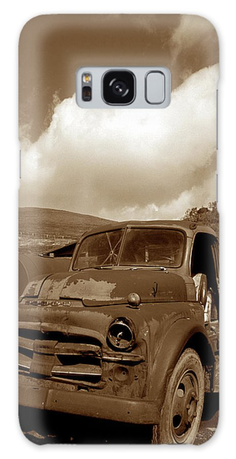 Old Trucks Galaxy S8 Case featuring the photograph Garrod's Old Truck 2 by Kathy Yates
