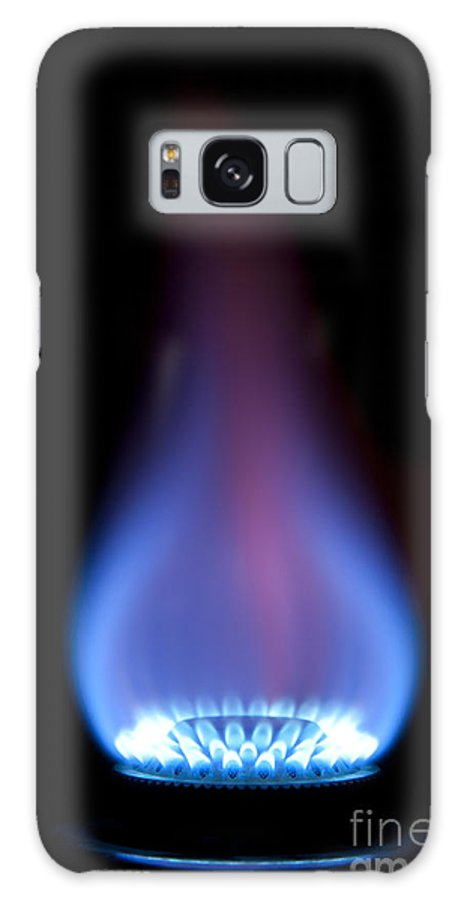 Gas Galaxy S8 Case featuring the photograph Gas Flame by Andy Smy