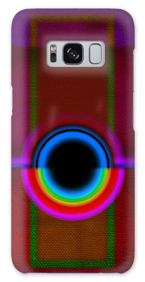 Portal Galaxy S8 Case featuring the painting Gate by Charles Stuart