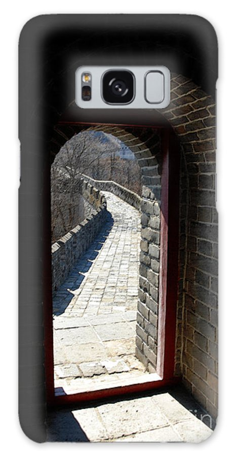 China Galaxy S8 Case featuring the photograph Gateway To Great Wall by Glenn Abell