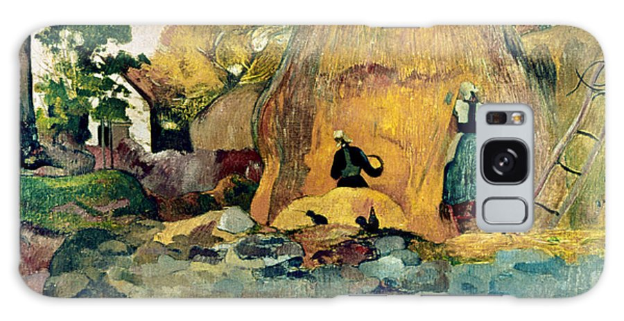 1889 Galaxy S8 Case featuring the photograph Gauguin: Haystacks, 1889 by Granger