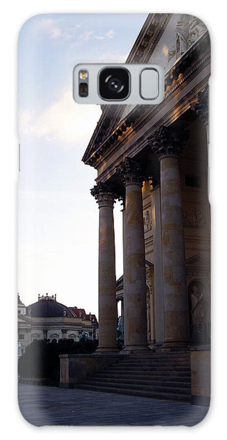 Gendarmenmarkt Galaxy S8 Case featuring the photograph Gendarmenmarkt by Flavia Westerwelle