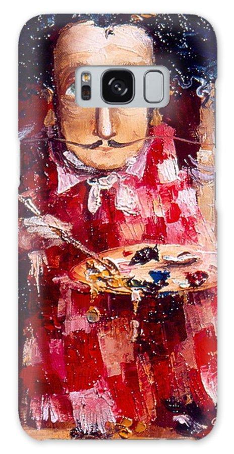 Genius Galaxy S8 Case featuring the painting Genius by Gia Chikvaidze