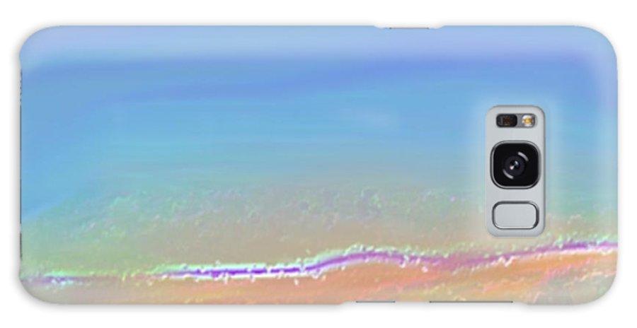 Landscape Galaxy S8 Case featuring the digital art Gentle Morning On Dead Sea by Dr Loifer Vladimir