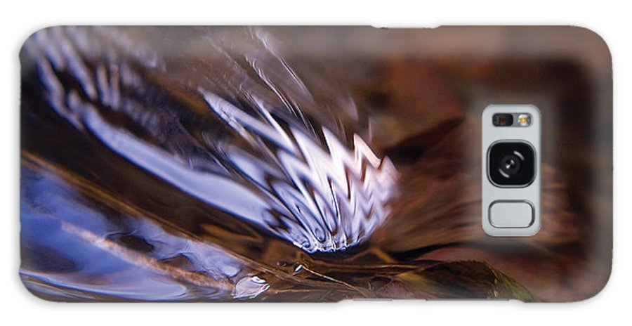 River Galaxy S8 Case featuring the photograph Gentle Ripple In River-2 by Steve Somerville
