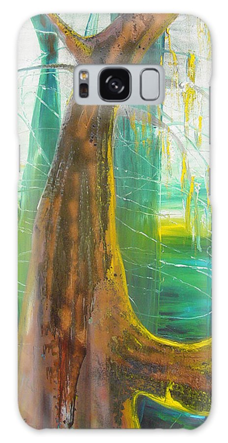 Landscape Galaxy S8 Case featuring the painting Georgia Morning by Peggy Blood