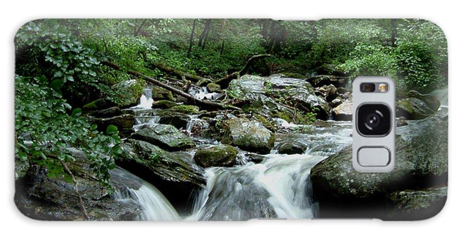 Georgia Galaxy S8 Case featuring the photograph Georgia Mountian Stream by Mark Grayden